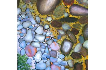 Up the Creek - detail (rocks)